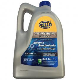 Garrafa de Aceite Hella 5W-30 Sintetico
