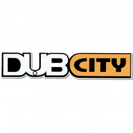 "Calcomania ""DUB CITY"""