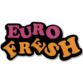 """Calcomania """"EURO FRESH"""""""