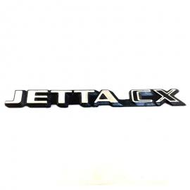 Letrero para jetta CX 87-92.