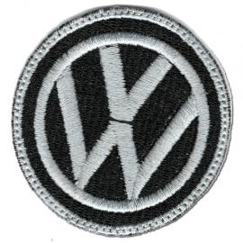 Parche Logo VW Circular Negro