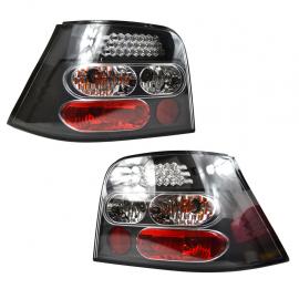 Calaveras con LEDs para Golf A4 Sport, Fondo Negro