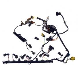 Flauta de inyectores con arnes para VR6