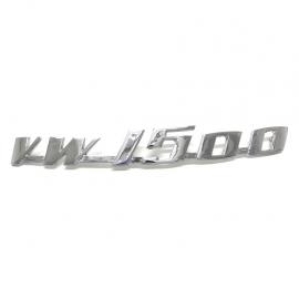 """Letrero """"VW 1500"""""""