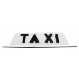 Copete de Taxi con iman Blanco Tobleron