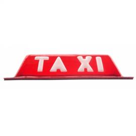 Copete de Taxi con iman Rojo Tobleron
