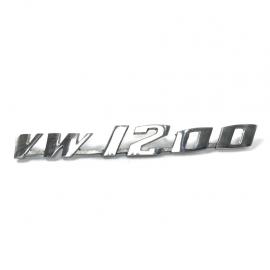 """Letrero """"VW 1200"""""""