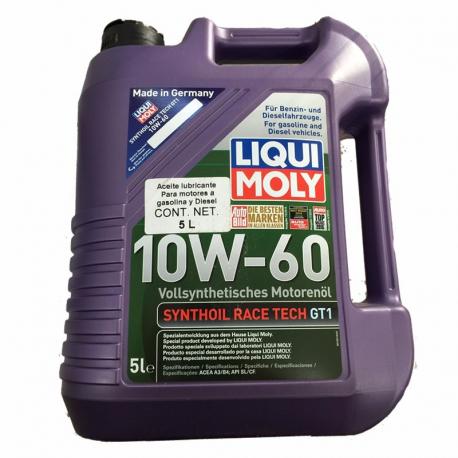 Garrafa de Aceite Liqui Moly 10W-60 Sintetico