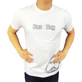 "Camiseta ""BUS & BUG"" (Blanca)"