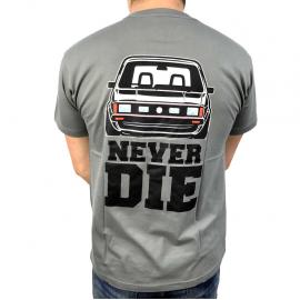 """Camiseta """"Classic/Never-Die"""" (Gris)"""