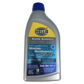 Botella de Aceite Hella 5W-30 Sintetico