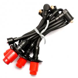 Cables de bujia para Sedan, Brasilia, Safari, Hormiga y Combi 1.6 Encendido normal BERU