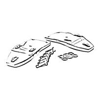Separadores de Tapa de Motor